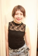 ナナメショートバングショート | 美容室 茨城 古河 | TAKUMI GROUP タクミ グループ
