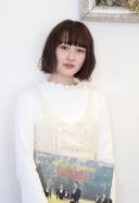 カールボブぱっつん前髪 | 美容室 茨城 古河 | TAKUMI GROUP タクミ グループ