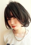 暗髪ショートボブ | 美容室 茨城 古河 | TAKUMI GROUP タクミ グループ