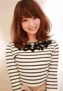 ふわっと可愛く 小顔になれる ミディアムスタイル | 美容室 茨城 古河 | TAKUMI GROUP タクミ グループ