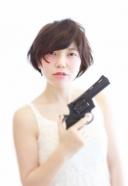 あなたのハートを貫くシティーハンター ショート | 美容室 茨城 古河 | TAKUMI GROUP タクミ グループ