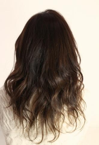 無造作フェロ髪